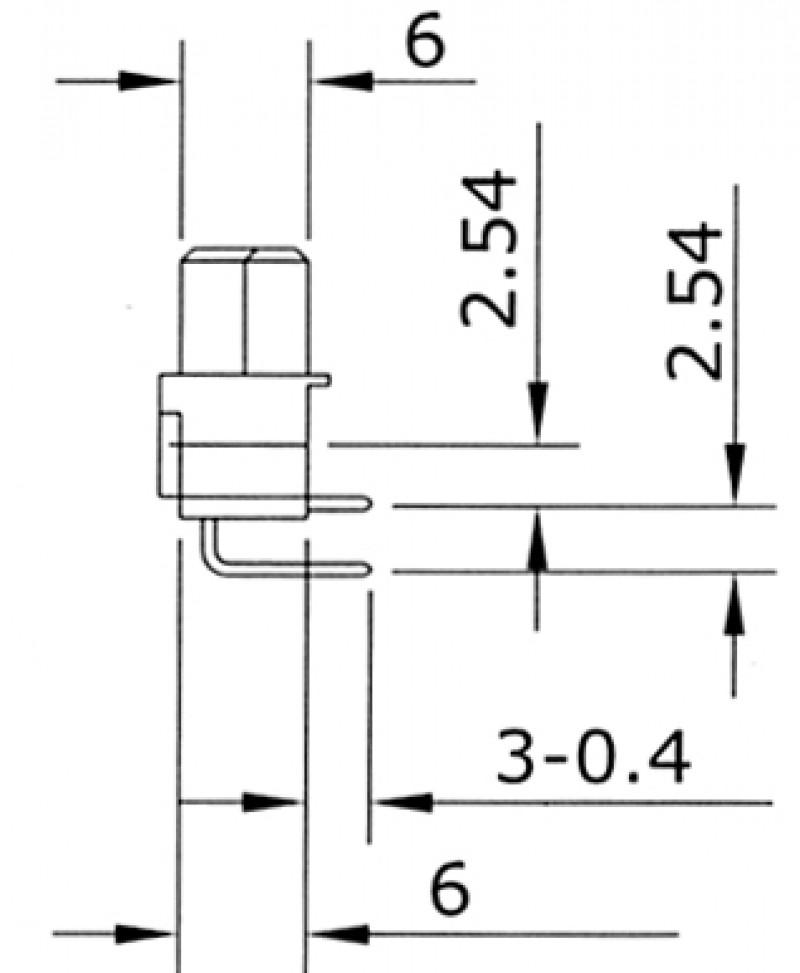 DIN 41612 A-HQF16bR