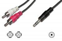 Audio- & video cables AK-510300-015-S